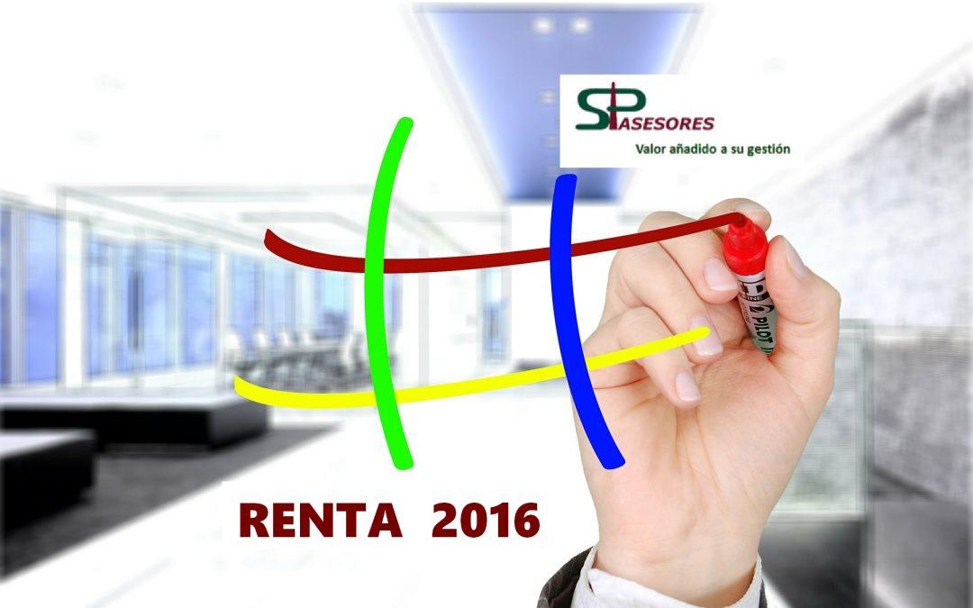 Novedades y claves de la campaña RENTA 2016