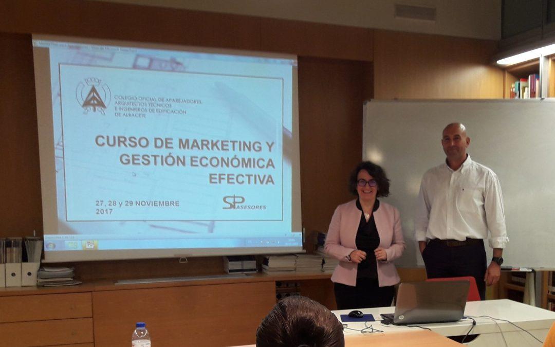 Gestión Económica y Marketing para Aparejadores