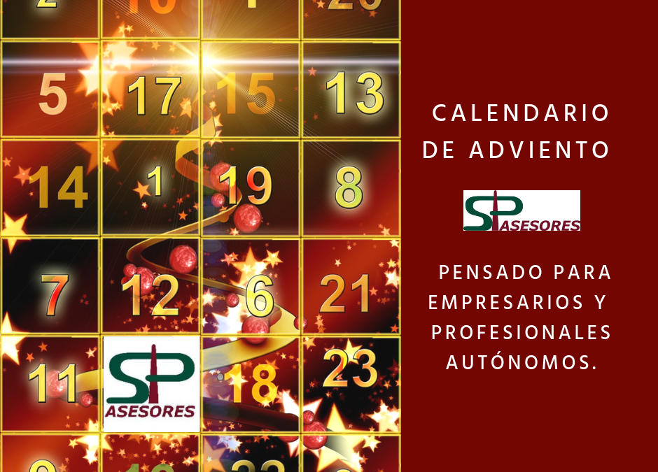 Calendario de Adviento de SP ASESORES
