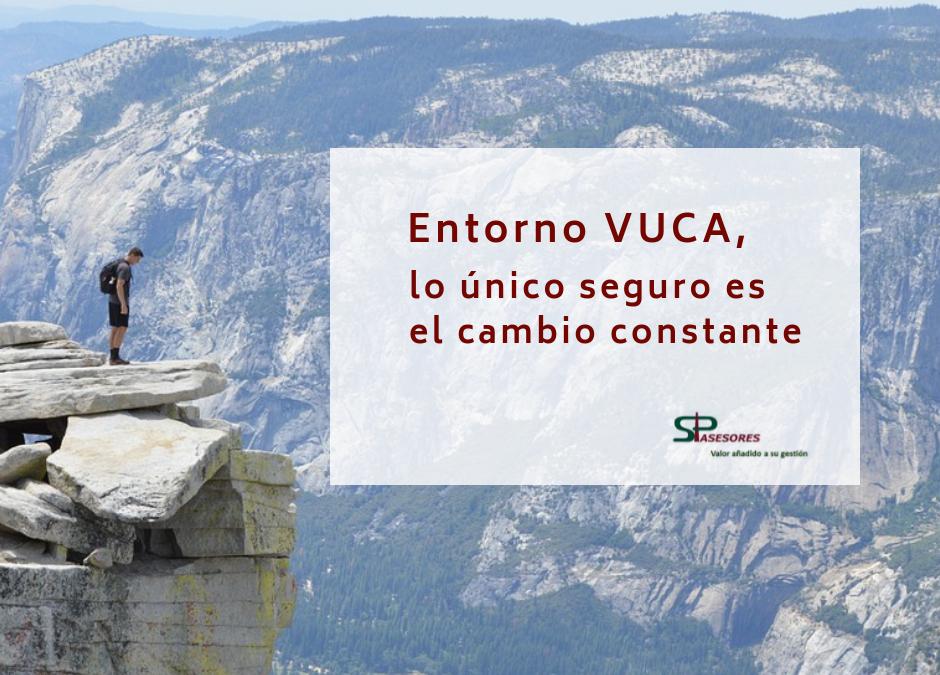 Entorno VUCA, lo único seguro es el cambio constante